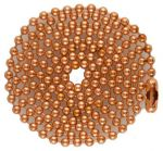 Copper 04.5 and 24 in. Ball Chain
