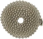 Economy4.5 to 40 in. Nickel-plated Steel Ball Chain